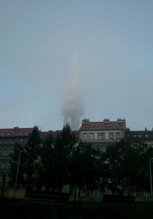 DSC_0005 - Věž v mlze