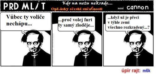 01 - Komix  - mustr Prd mlít - Voliče nechápu